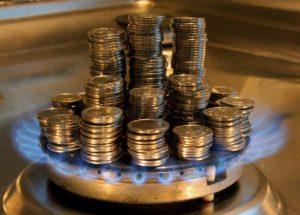 Цена на газ для населения повысится с 1 августа на 3%